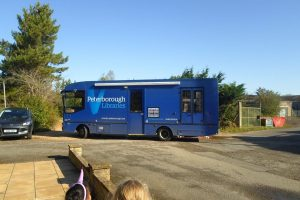 Peterborough City Council's Library Bus
