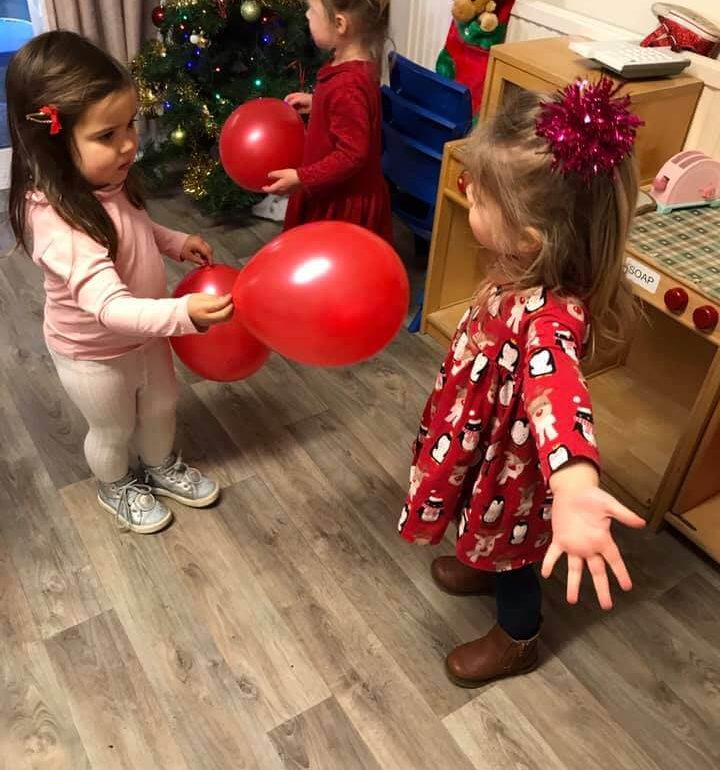 Nursery at Christmas