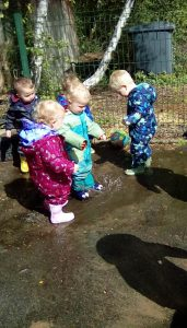 Butterflies Puddle Play Group