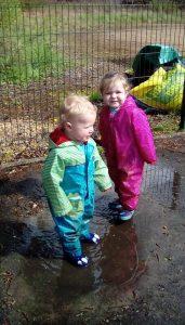 Butterflies Puddle Play Peterborough Nurseries