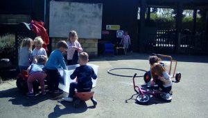 Dragonflies Car WashFirst Steps Day Nursery